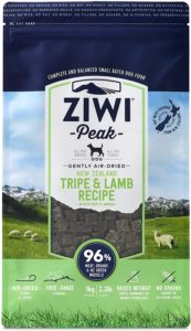 Ziwi peak recipie for dogs